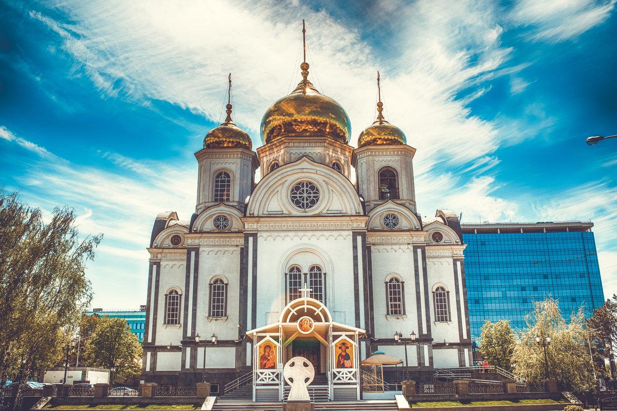 Храм Александра Невского – достопримечательности Краснодара